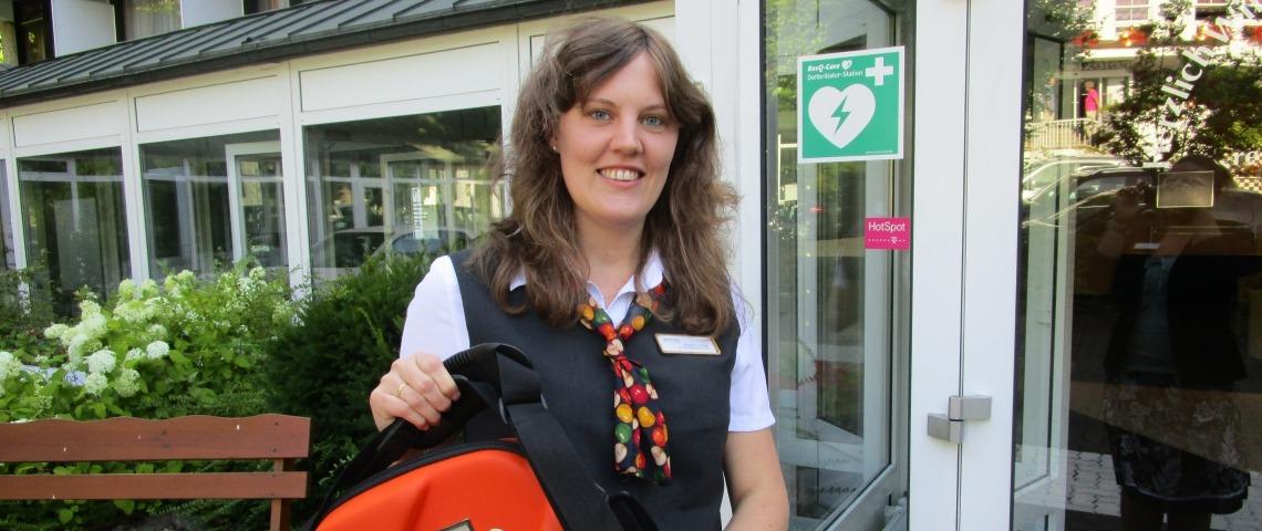 Aed Defibrillatoren In 10 Relexa Hotels